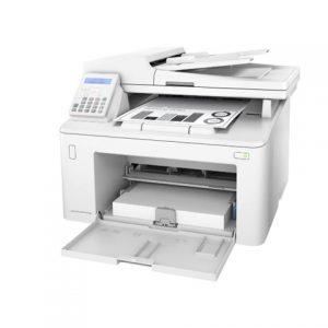 máy in trắng đen đa năng hp m227fdn