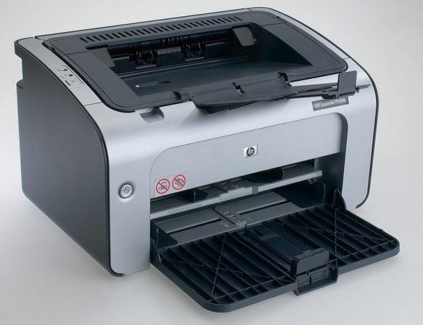 máy in trắng den cũ hp laserjet P1006