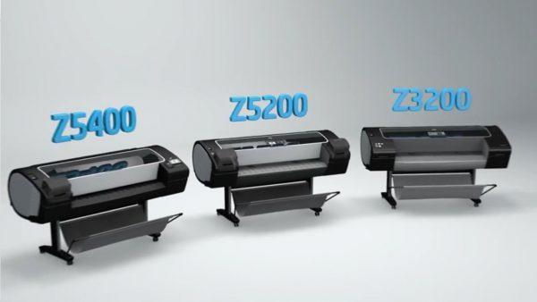 máy in ảnh chuyên nghiệp hp Z5400